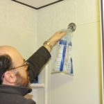 measuring water efficiency of showerhead