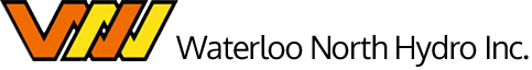 Logo features the words Waterloo North Hydro Inc.