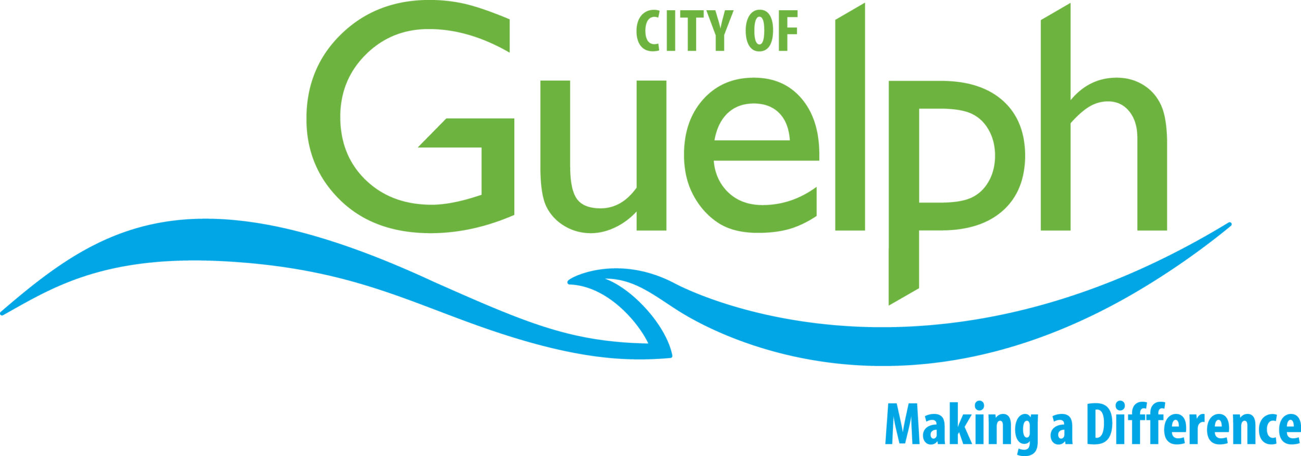 Logo contains text City of Guelph and Making a Difference
