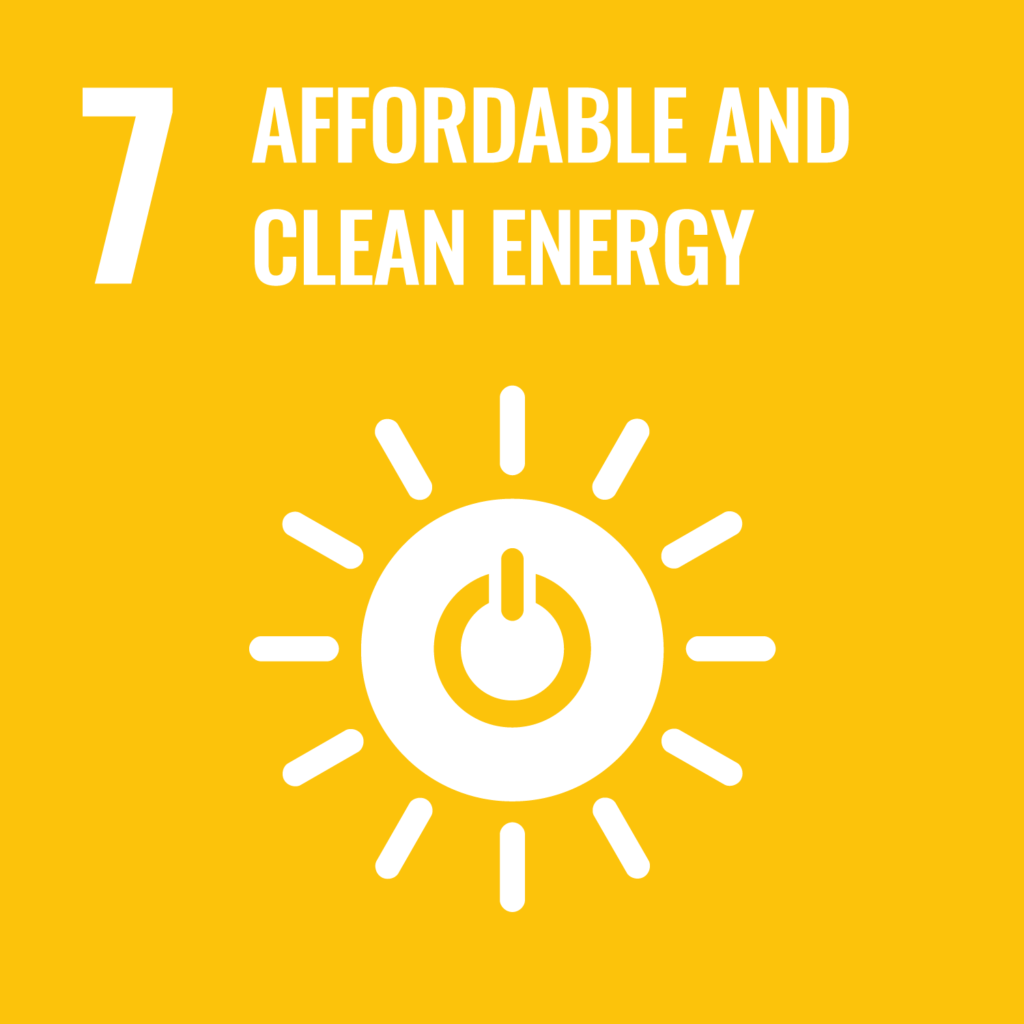 UN Sustainable Development Goal 7 Affordable and Clean Energy