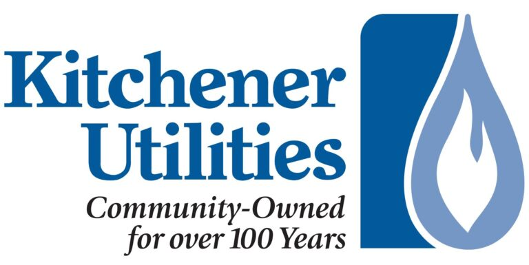 Kitchener Utilities Logo; Community Owned for over 100 Years