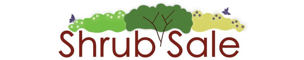 shrub sale graphic logo