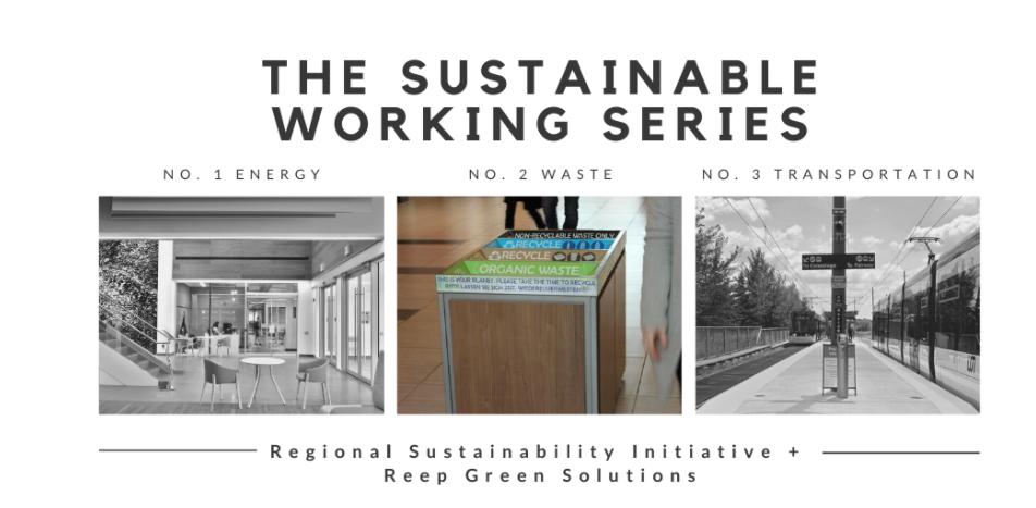 Sustainable Working Series Blog 2 waste