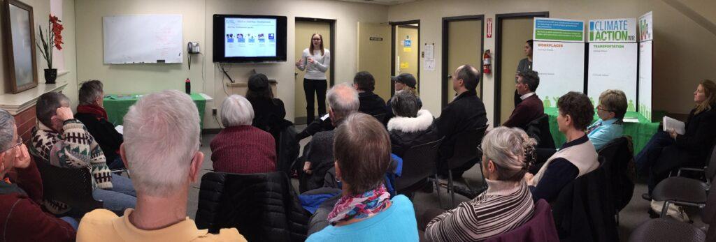 samantha wokrshop climateactionwr CAWR Elmira Presentation