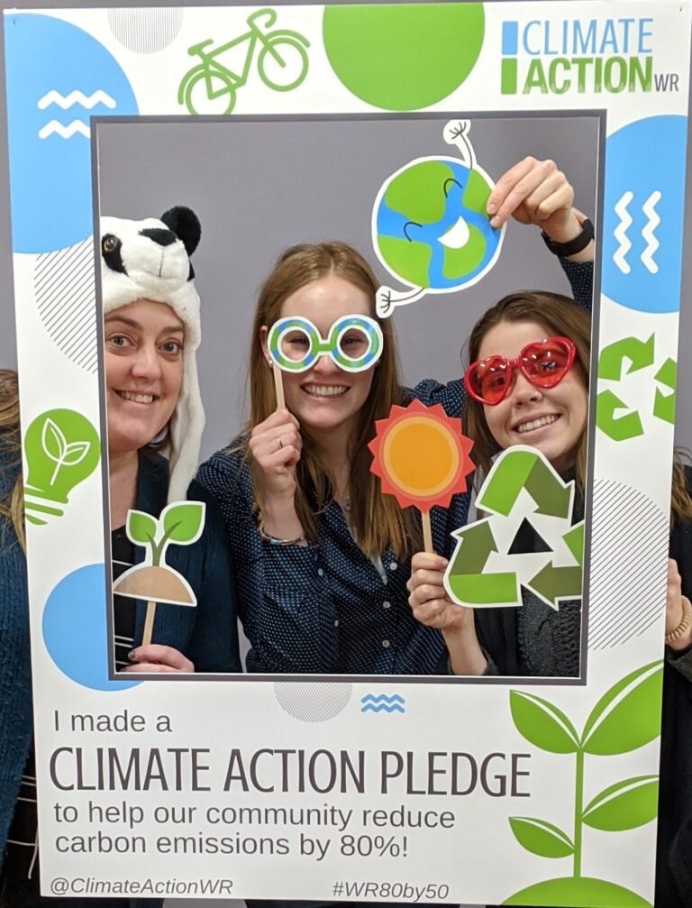 CAWR Climate Action Pledge (2) themuseum the museum display climateactionwr samantha