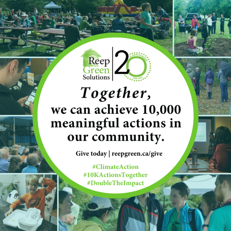 together we can achieve ten thousand meaningful actions together