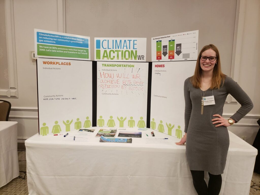 Samantha CAWR climateactionwr presentation street teams